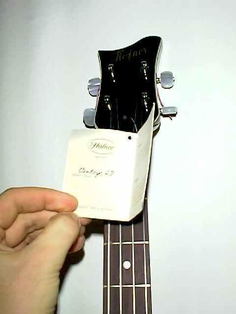 Höfner Beatles Bass '63