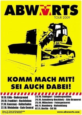 Abwärts Tour 2009