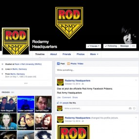 Rod Army auf Facebook