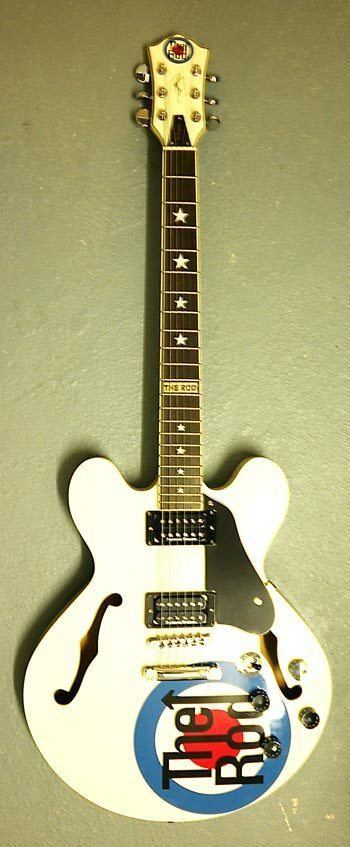 Rodguitars The Rod Custom White